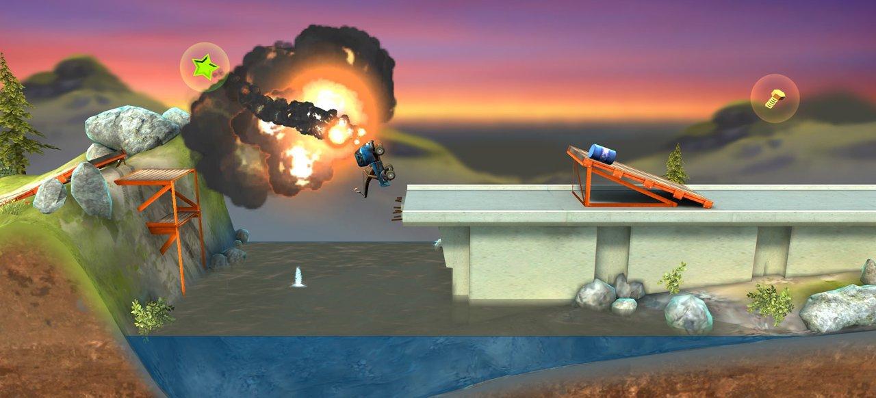 Bridge Constructor Stunts (Geschicklichkeit) von Headup Games
