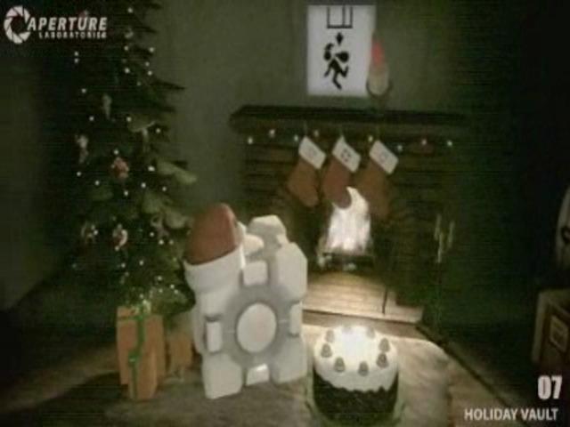 Weihnachten bei Aperture-Science