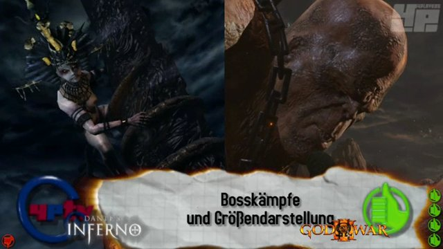 GoW3/Dante's Inferno-Vergleich