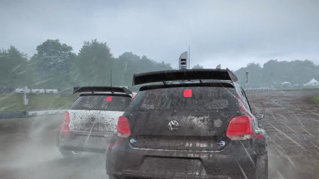 World Rallycross Spielszenen
