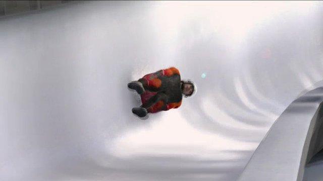 Eisschnelllauf und Bobfahren